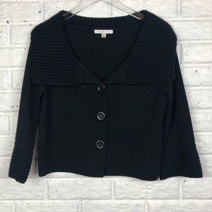 CABI Jackie O cropped sweater cardigan #502